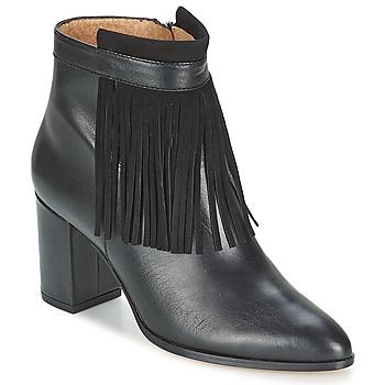 Schoenen Dames Enkellaarzen Fericelli JOVELIO Zwart