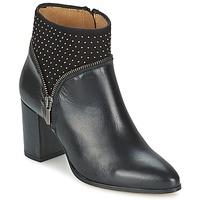 Schoenen Dames Enkellaarzen Fericelli ANTILLO Zwart