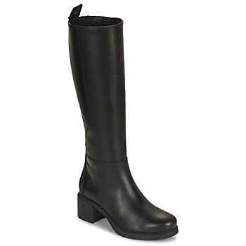 Schoenen Dames Hoge laarzen Timberland DALSTON VIBE TALL BOOT Zwart