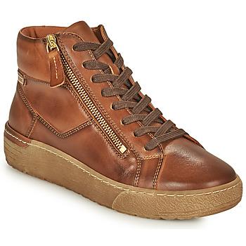 Schoenen Dames Hoge sneakers Pikolinos VITORIA Bruin