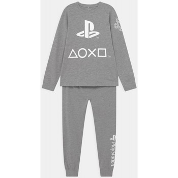 Textiel Kinderen Setjes Name it PIJAMA PLAYSTATION NIÑO  13191590 Grijs