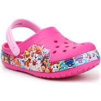 Schoenen Meisjes Klompen Crocs FL Paw Patrol Band Clog 205509-670 pink