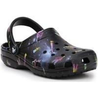 Schoenen Kinderen Sandalen / Open schoenen Crocs Classic Out Of This World II 206818-001 black
