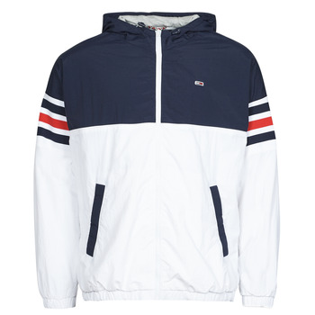 Textiel Heren Wind jackets Tommy Jeans TJM COLORBLOCK ZIPTHRU Blauw / Wit / Rood