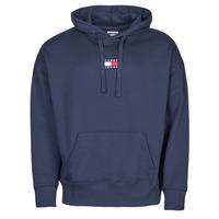 Textiel Heren Sweaters / Sweatshirts Tommy Jeans TJM TOMMY BADGE HOODIE Marine