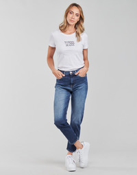 Textiel Dames Straight jeans Tommy Jeans IZZIE HR SLIM ANKLE AE632 MBC Marine