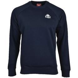 Textiel Heren Sweaters / Sweatshirts Kappa Taule Sweatshirt Bleu marine
