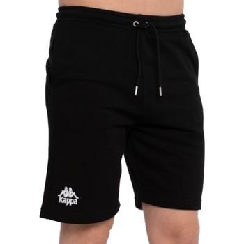 Textiel Heren Korte broeken / Bermuda's Kappa Topen Shorts Noir