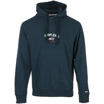 Textiel Heren Sweaters / Sweatshirts Tommy Hilfiger Timeless Tommy Hoodie Blauw
