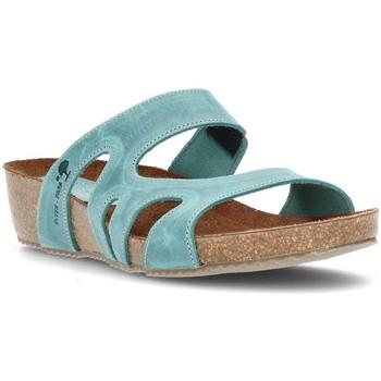 Schoenen Dames Leren slippers Interbios W JEANS