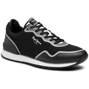 Schoenen Heren Lage sneakers Pepe jeans Cross 4 Knit Zwart