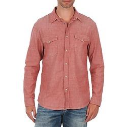 Textiel Heren Overhemden lange mouwen Selected Doha shirt ls r J Rood