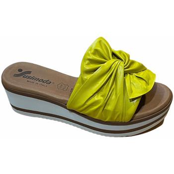 Schoenen Dames Leren slippers Susimoda SUSI1909sun nero