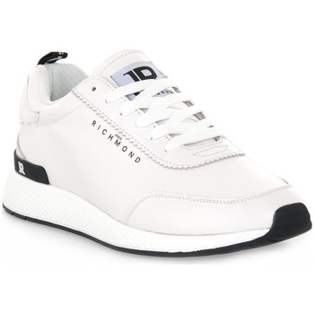 Schoenen Heren Lage sneakers Richmond BIANCO NAPPA Bianco