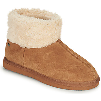 Schoenen Dames Sloffen Isotoner 97307 Camel