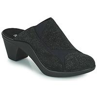 Schoenen Dames Leren slippers Romika Westland ST TROPEZ 234 Zwart