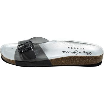 Schoenen Dames slippers Pepe jeans Oban Vinyl Grijs