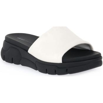 Schoenen Dames Leren slippers Frau BURRO CLUD Beige