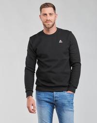 Textiel Heren Sweaters / Sweatshirts Le Coq Sportif ESS CREW SWEAT N 3 M Zwart