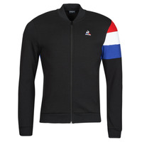 Textiel Heren Trainings jassen Le Coq Sportif TRI FZ SWEAT N 1 M Zwart