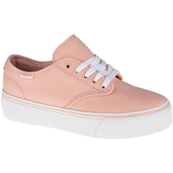 Schoenen Dames Lage sneakers Vans Camden Platform Canvas Orange