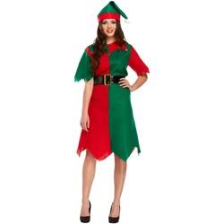 Textiel Dames Korte jurken Christmas Shop CS086 Groen/rood