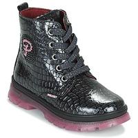 Schoenen Meisjes Laarzen Pablosky 404157 Zwart