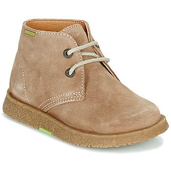Schoenen Jongens Laarzen Pablosky 502148 Camel