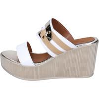 Schoenen Dames Leren slippers Sara Collection Sandalen BJ938 ,