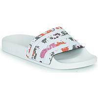 Schoenen Dames slippers adidas Originals ADILETTE W Wit / Fleur