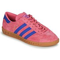 Schoenen Lage sneakers adidas Originals HAMBURG Roze / Blauw