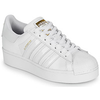 Schoenen Dames Lage sneakers adidas Originals SUPERSTAR BOLD W Wit