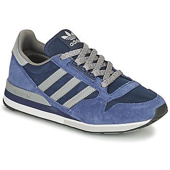Schoenen Lage sneakers adidas Originals ZX 500 Blauw / Grijs