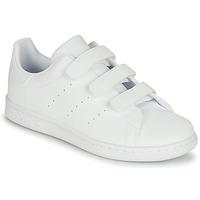 Schoenen Kinderen Lage sneakers adidas Originals STAN SMITH CF C Wit