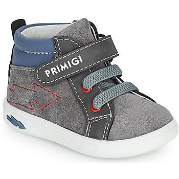 Schoenen Jongens Hoge sneakers Primigi BABY LIKE Grijs / Blauw