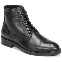 Schoenen Heren Laarzen Selected BROGUE Zwart