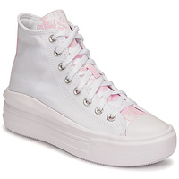 Schoenen Dames Hoge sneakers Converse CHUCK TAYLOR ALL STAR MOVE HYBRID FLORAL HI Wit
