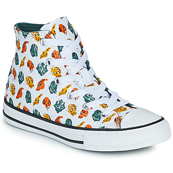 Schoenen Kinderen Hoge sneakers Converse CHUCK TAYLOR ALL STAR DINO DAZE HI Wit / Groen / Oranje
