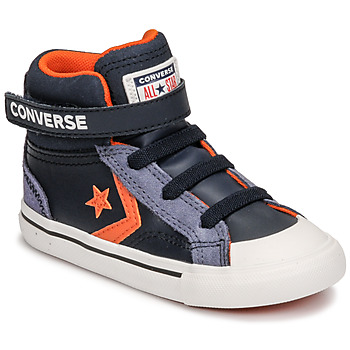 Schoenen Kinderen Hoge sneakers Converse PRO BLAZE STRAP LEATHER TWIST HI Blauw
