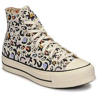 Schoenen Dames Hoge sneakers Converse CHUCK TAYLOR ALL STAR LIFT MYSTIC WORLD HI Wit / Multicolour
