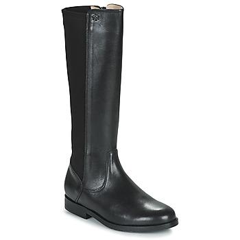 Schoenen Meisjes Hoge laarzen Acebo's 9905PE-NEGRO-T Zwart