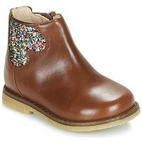Schoenen Meisjes Laarzen Acebo's 3202-CUERO-C Bruin
