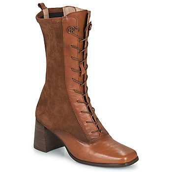 Schoenen Dames Hoge laarzen Hispanitas CHIARA Bruin
