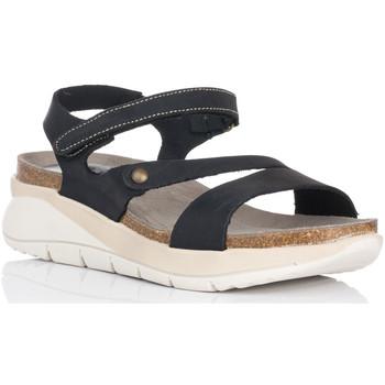 Schoenen Dames Sandalen / Open schoenen Interbios 6901 Zwart