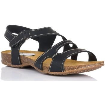 Schoenen Dames Sandalen / Open schoenen Interbios 4441 Zwart