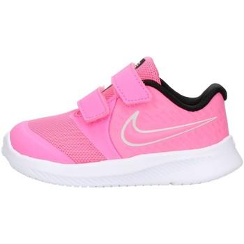 Schoenen Kinderen Lage sneakers Nike AT1803 Rose