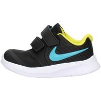 Schoenen Kinderen Lage sneakers Nike AT1803 Black
