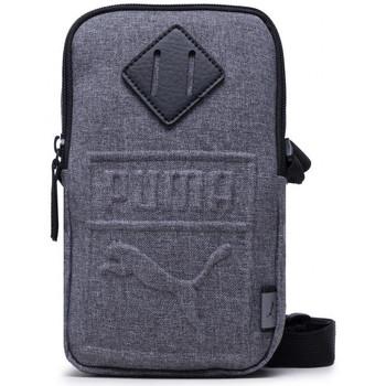 Tassen Schoudertassen met riem Puma S Portable Grijs