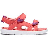 Schoenen Meisjes Sandalen / Open schoenen Timberland Perkins row Rood