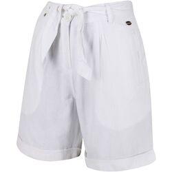 Textiel Dames Korte broeken / Bermuda's Regatta  Wit